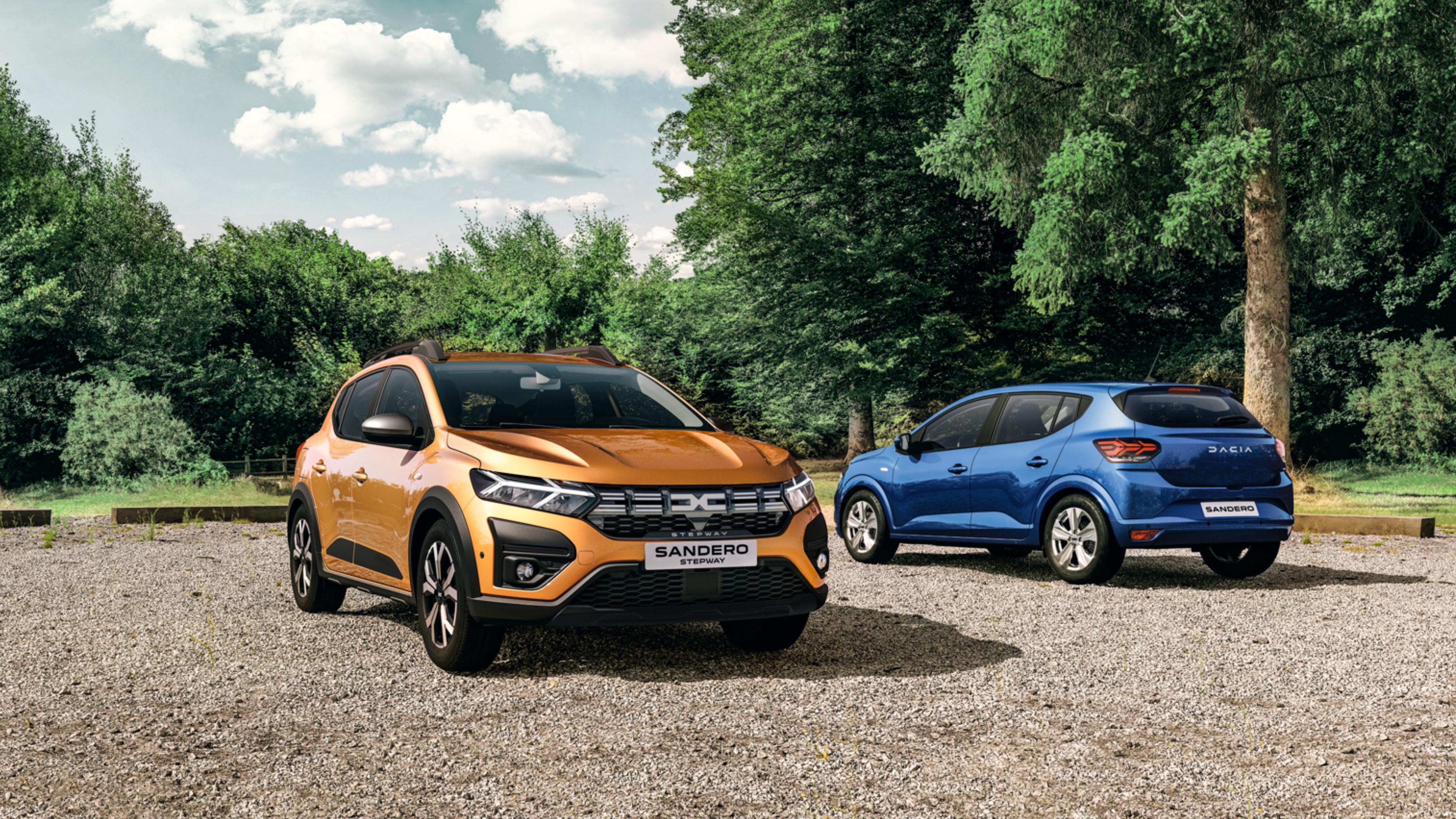 Täiesti uus Dacia Sandero ja Sandero Stepway